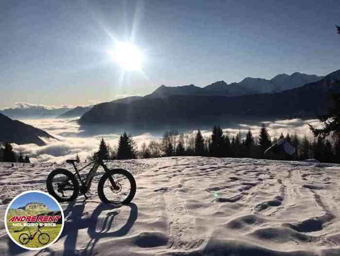 Andrerent E-bike rental and sale, enduro electric mtb fat bikes in Crodo in Valle Antigorio-Formazza