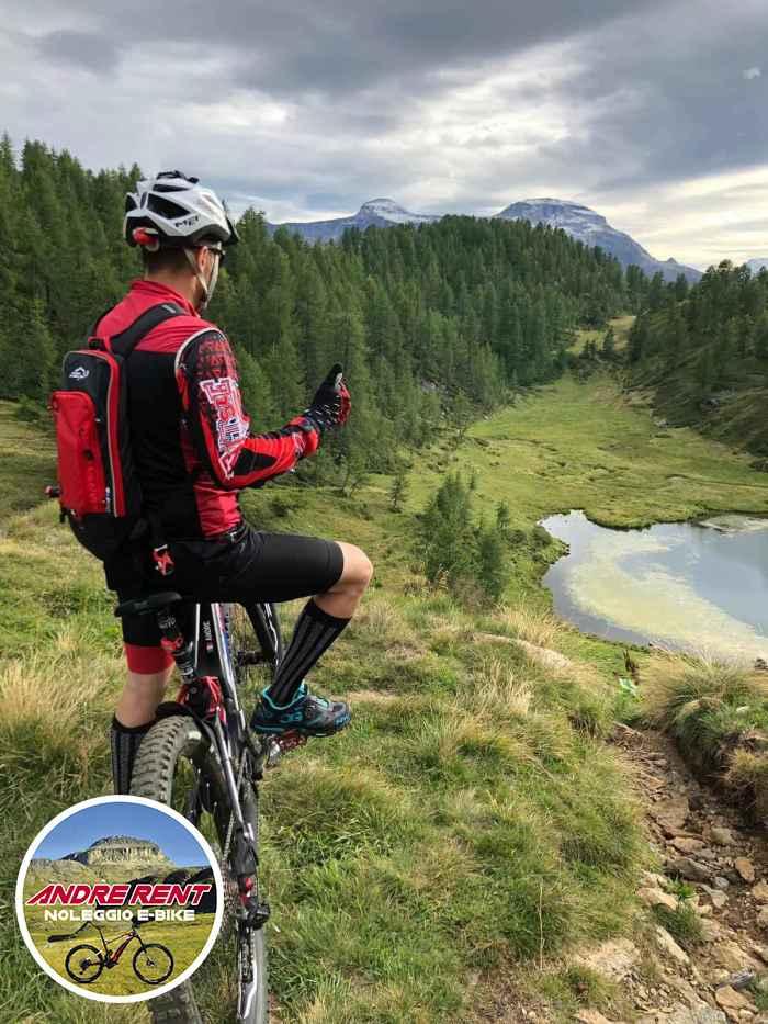 Andre rent noleggio e-bike e fat bike estivo e invernale a Crodo in Valle Antigorio