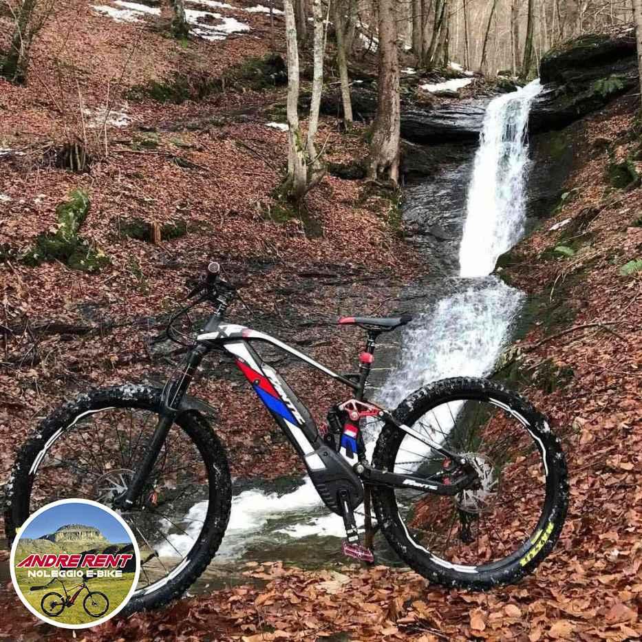 Andre Rent Rental of guided e-bike tours, enduro electric mtb fat bikes in Crodo in the Antigorio-Formazza Valley